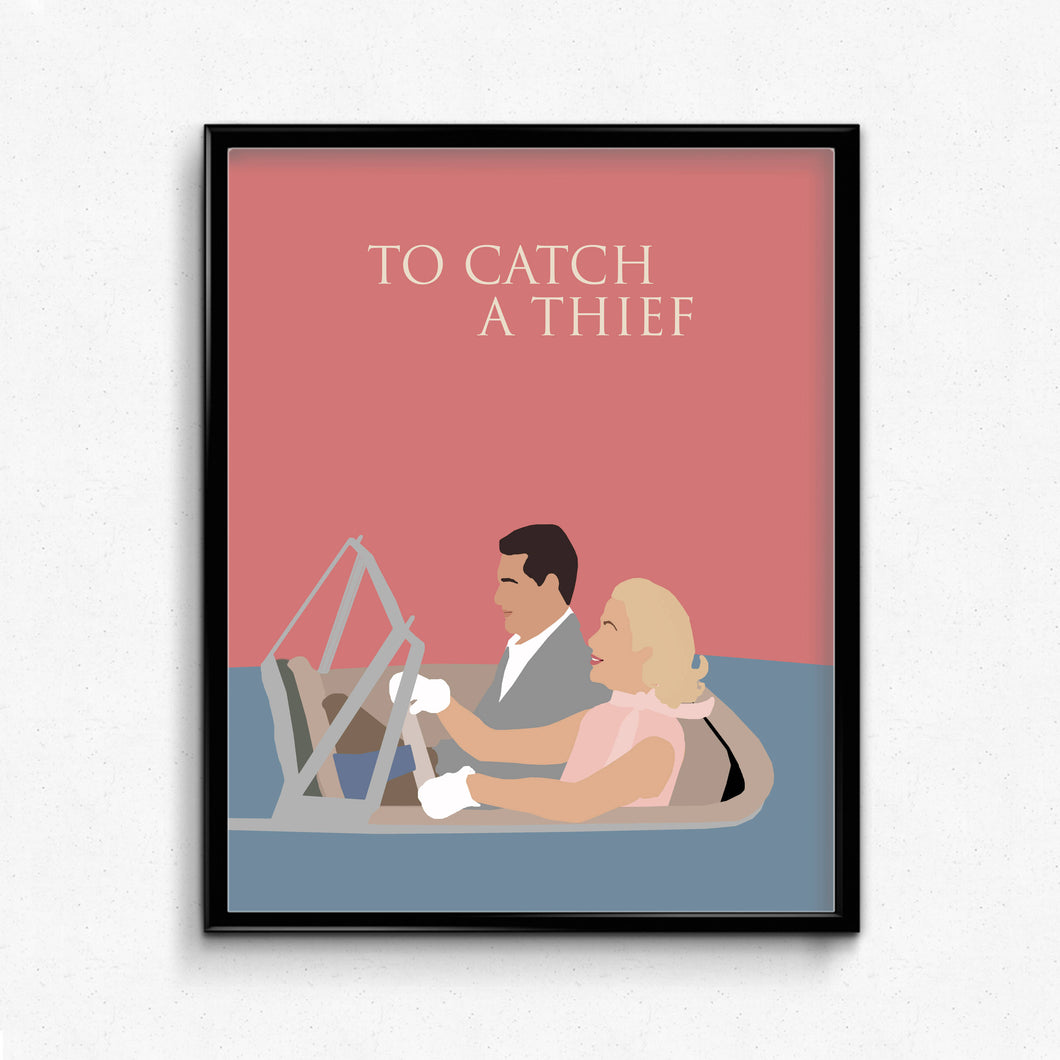 To Catch A Thief • Movie Print