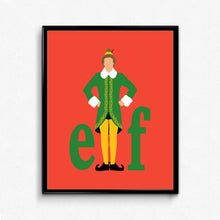 Elf • Movie Print