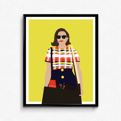 Peggy Olson, Mad Men • TV Print