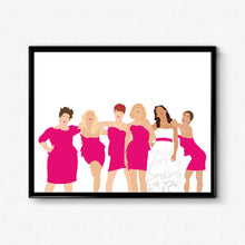 Bridesmaids • Movie Print