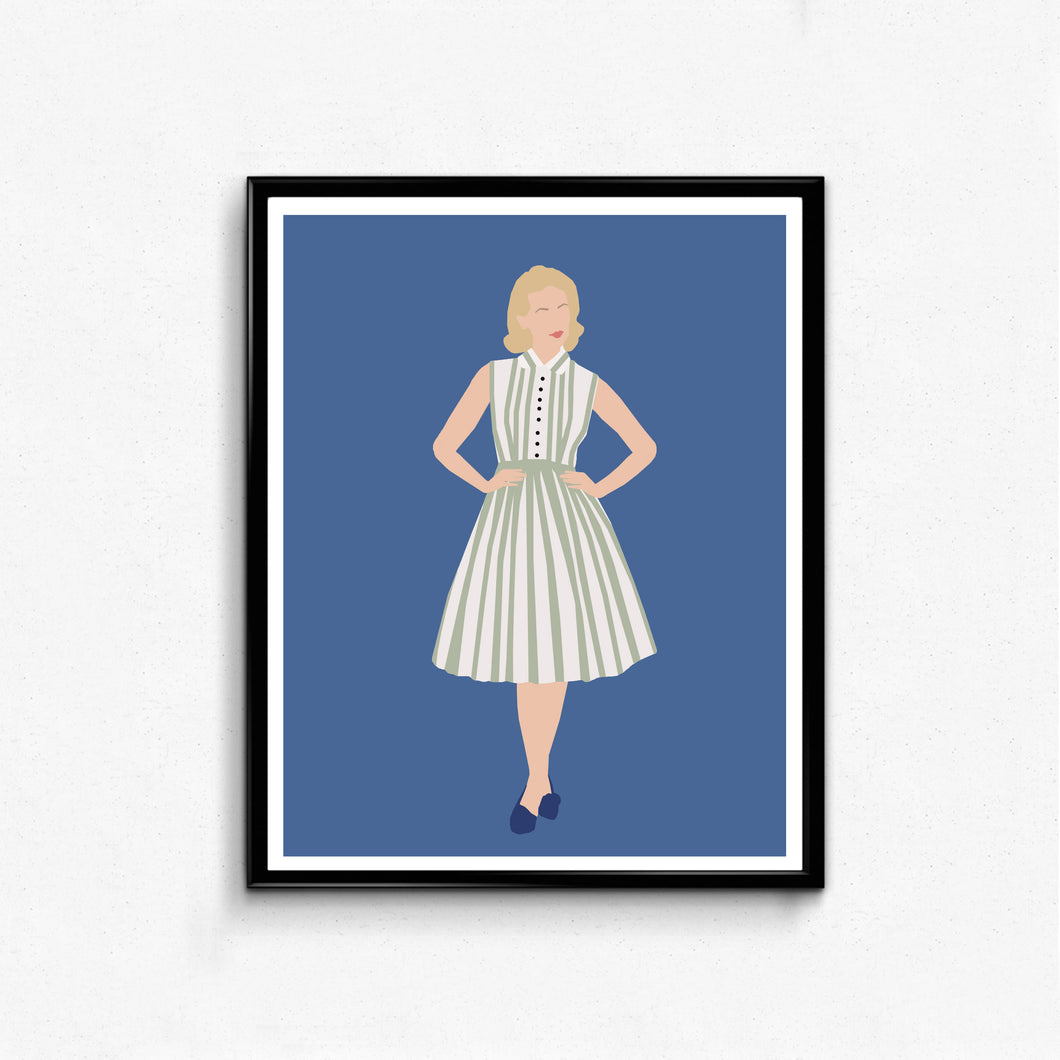 Betty Draper, Mad Men • TV Print
