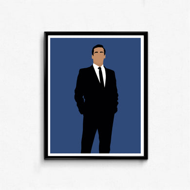 Don Draper, Mad Men • TV Print