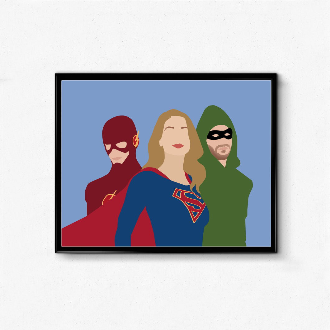 Supergirl • TV Print