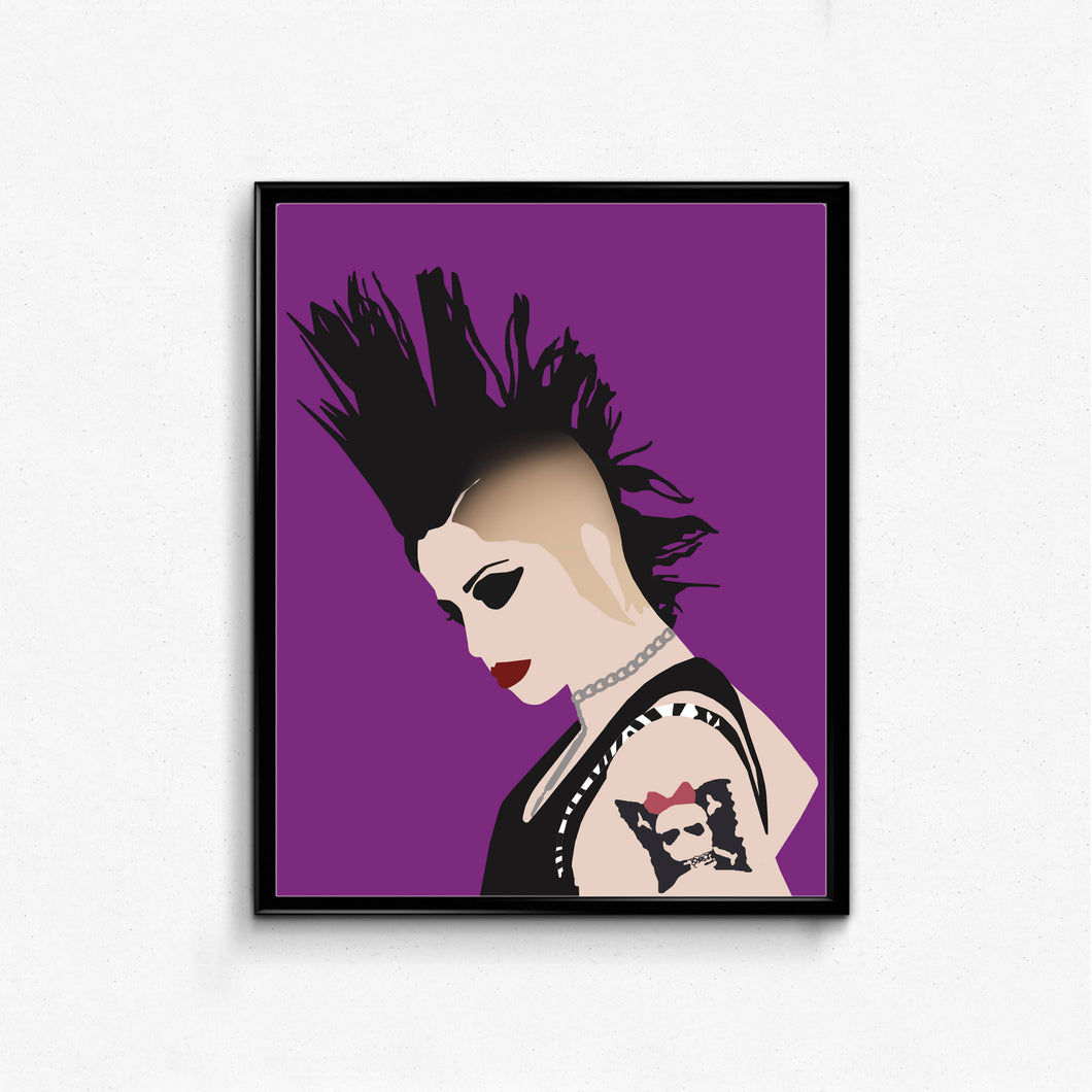 Brody Dalle Poster- Feminist Music Print, Wall Art Decor