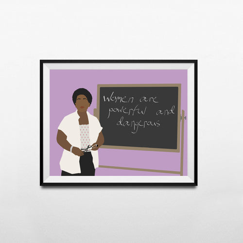 Audre Lorde Minimalist Poster- Feminist, Activist Poster, Gift Wall Art Decor