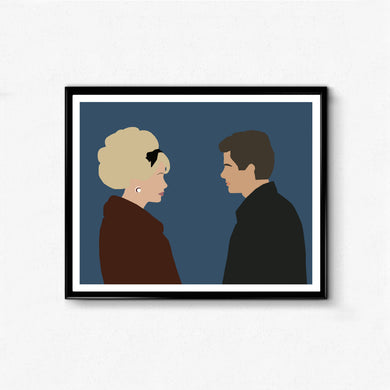 Les Parapluies de Cherbourg • Movie Print