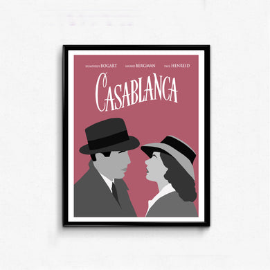 Casablanca • Movie Print