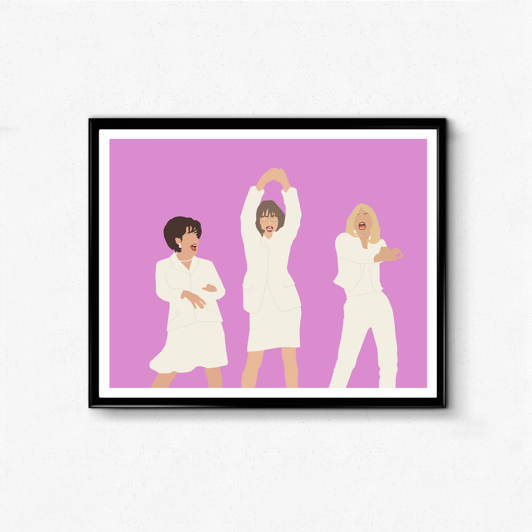 First Wives Club • Movie Print