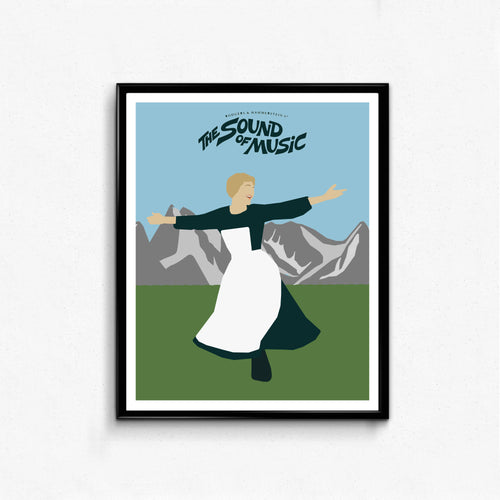 The Sound of Music • Movie Print