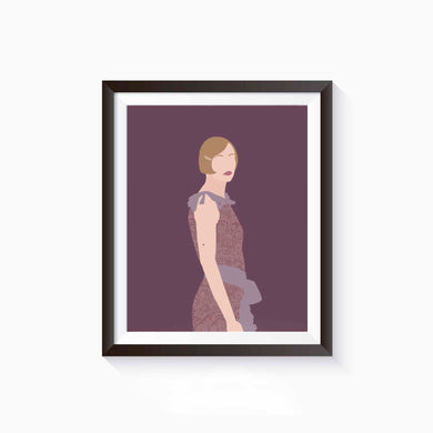 Daisy Buchanan, The Great Gatsby Poster • Literature Collection