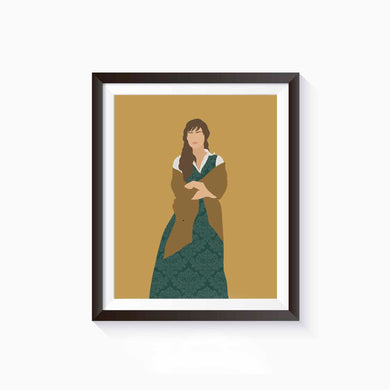 Elizabeth Bennet, Pride and Prejudice Poster • Literature Collection
