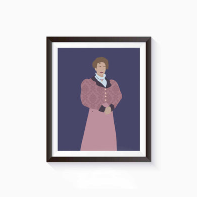 Hedda Gabler Poster • Literature Collection