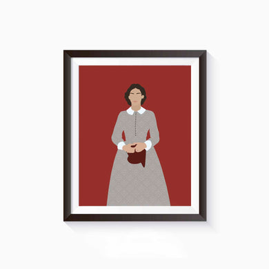 Jo March, Little Women Poster • Literature Collection