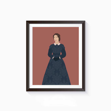 Meg March, Little Women Poster • Literature Collection