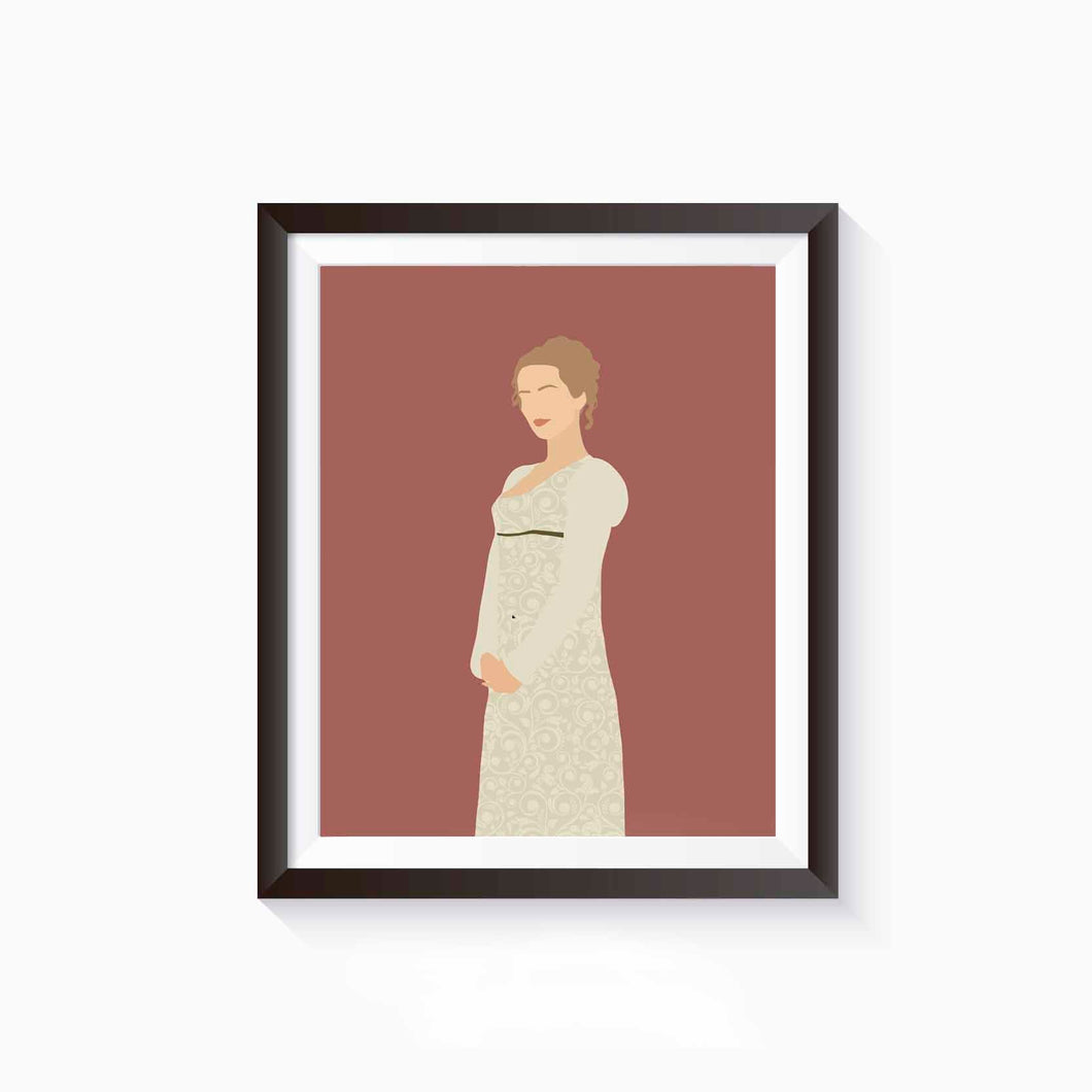 Emma, Jane Austen Poster • Literature Collection