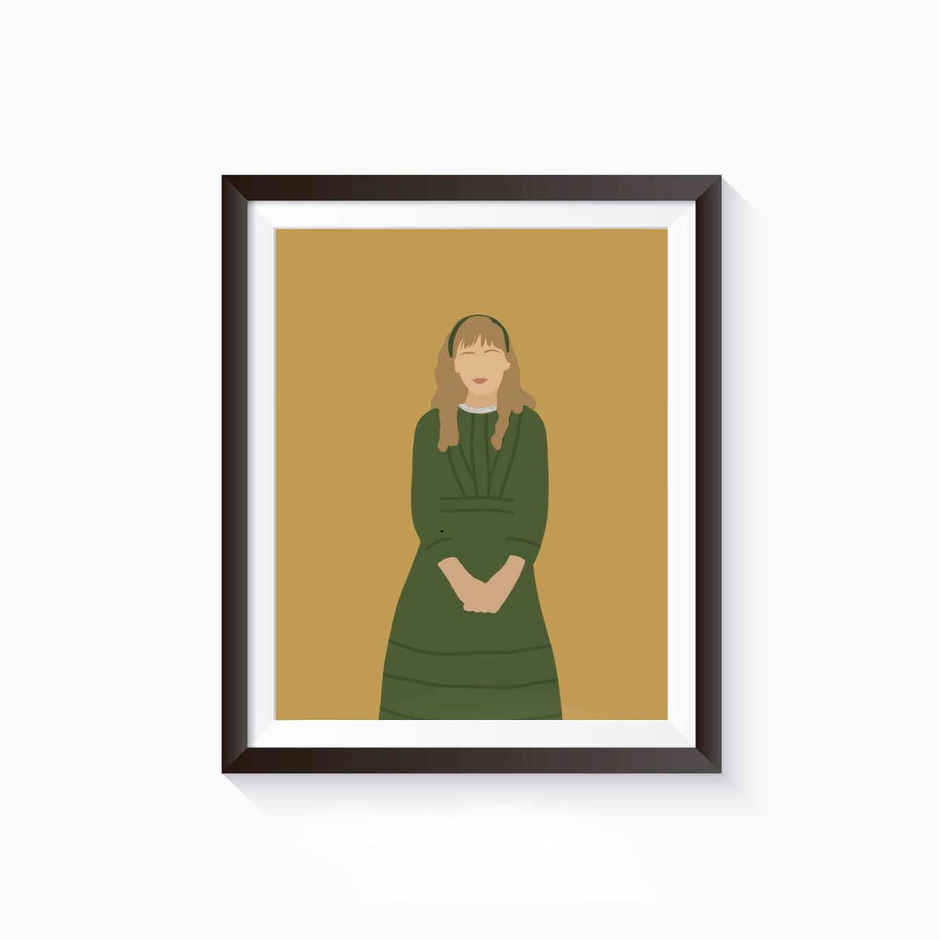 Amy March, Little Women Poster • Literature Collection