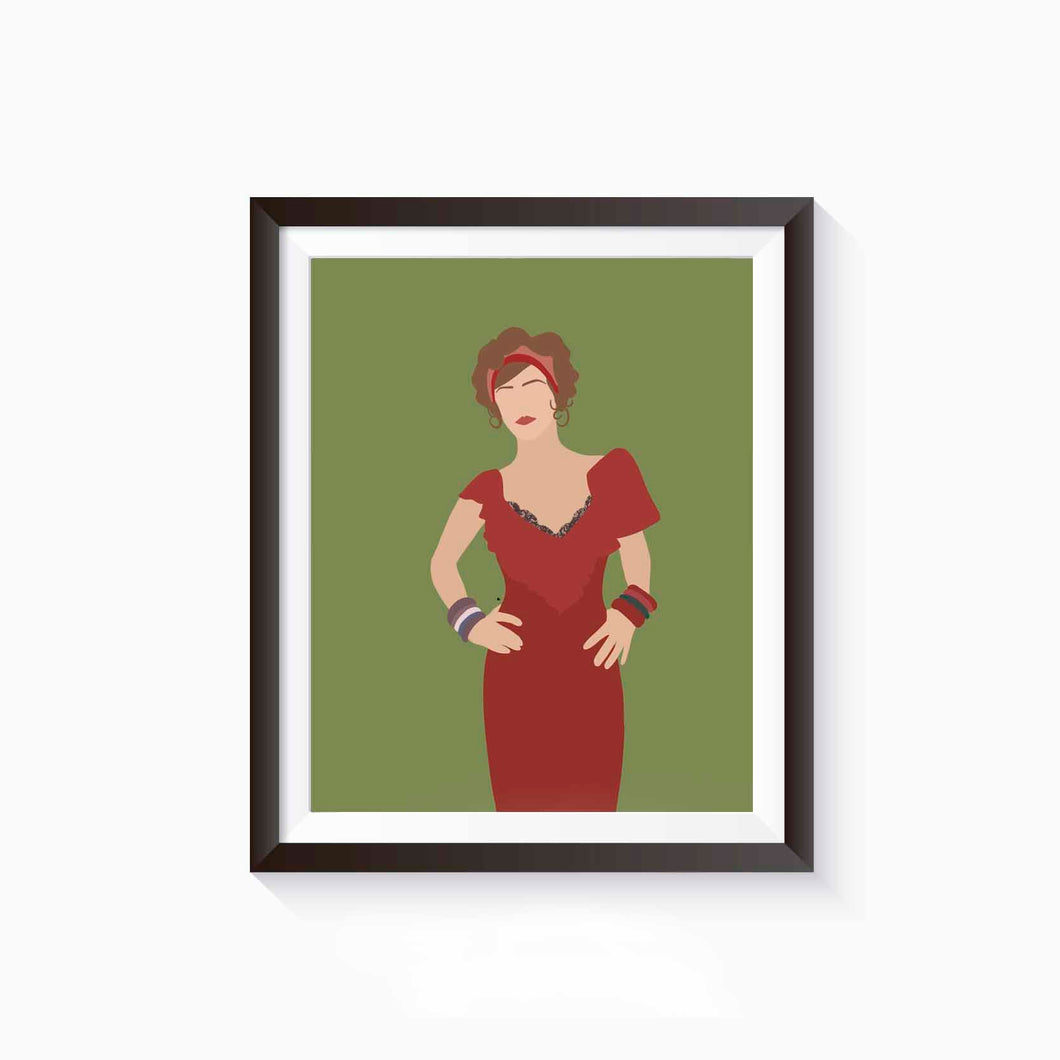 Myrtle, The Great Gatsby Poster • Literature Collection