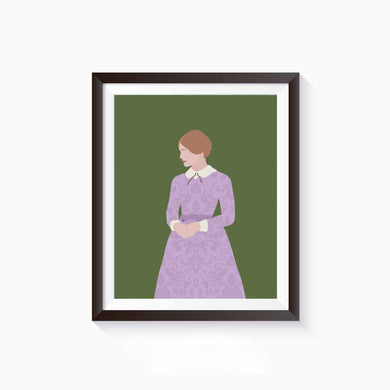 Jane Eyre Poster • Literature Collection
