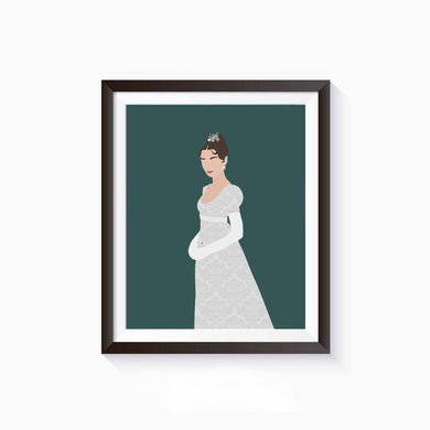 Natasha, War and Peace Poster • Literature Collection