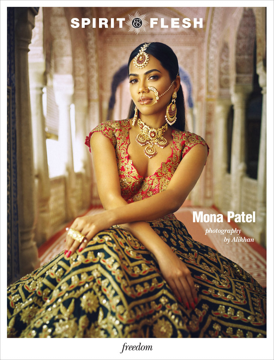 "MONA PATEL – ""Child of India"" by Alikhan, Freedom Issue."