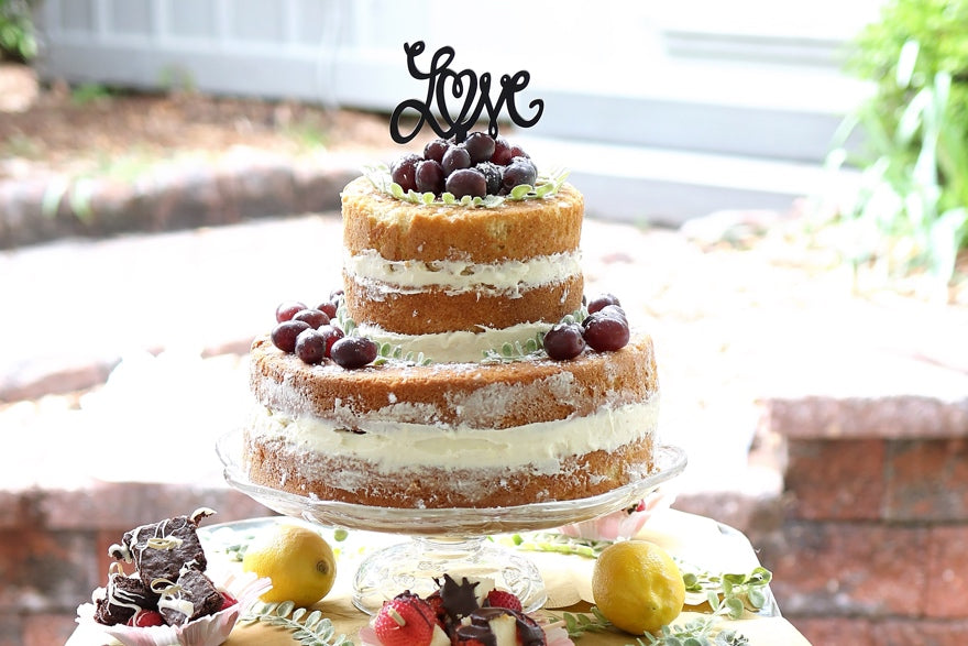 DIY Wedding Cake Ideas