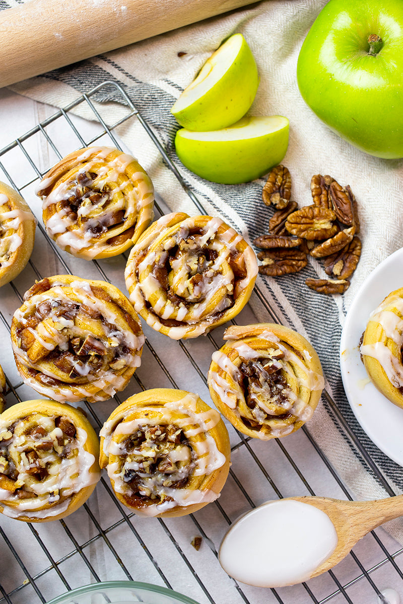 Apple & Pecan Buns