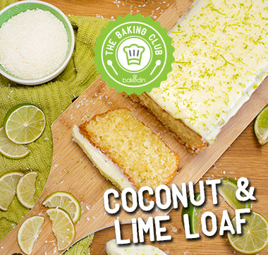 Coconut and Lime Loaf