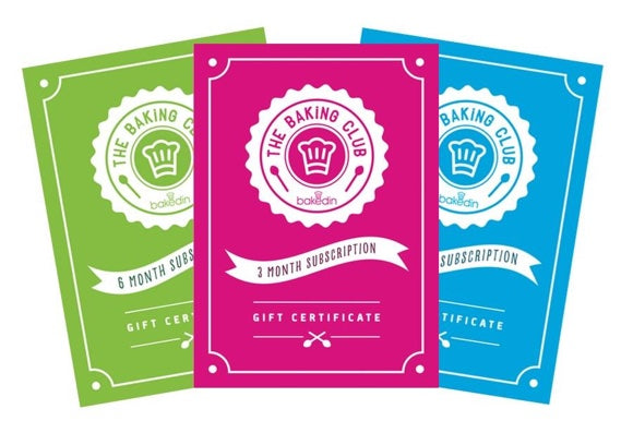 Bakedin Baking Club Gift Subscriptions