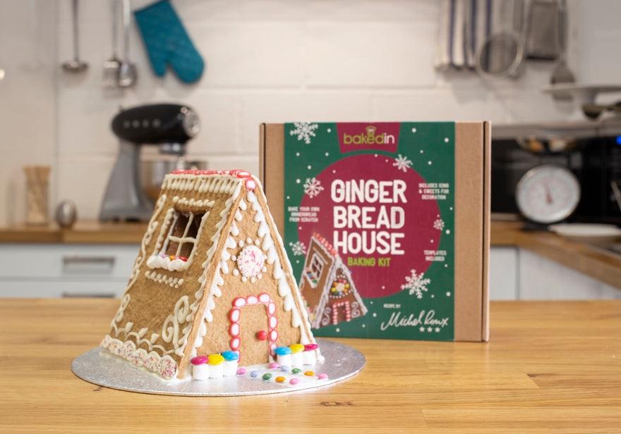 Bakedin Best Winter Desserts and Bakes Gingerbread House