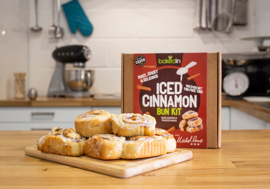 Bakedin Christmas Breakfast Ideas Iced Cinnamon Buns