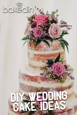 Bakedin DIY Wedding Cake Ideas