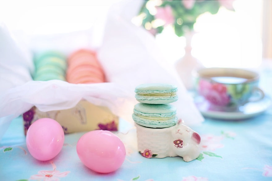 Bakedin Easter Baking Ideas for Kids Springtime Macarons