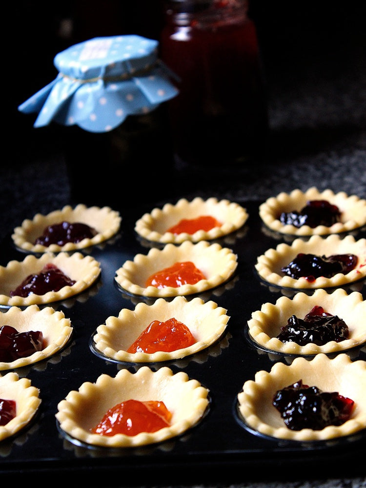 Bakedin Easy Baking Recipes for Kids Jam Tarts