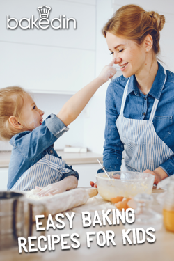 Bakedin Easy Baking Recipes for Kids