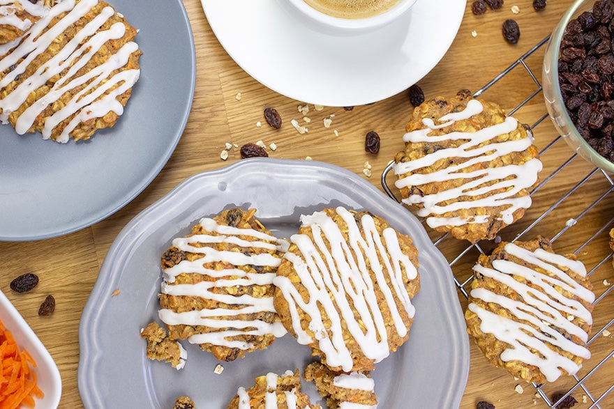 Bakedin Favourite Afternoon Tea Recipes Carrot Cake Cookies