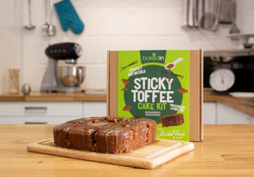 Bakedin Great British Bake Off Week 5 Spice Week Sticky Toffee Cake