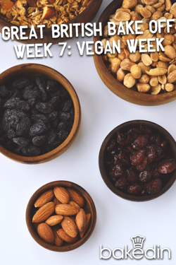 The Great British Bake Off Week 7 was Vegan Week, proving it is possible to bake on a vegan diet. Find out our favourite vegan baking recipes.