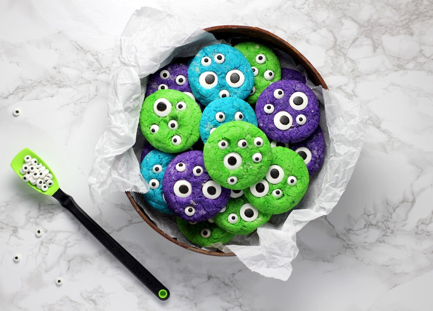 Bakedin Halloween Baking for Kids Monster Cookies