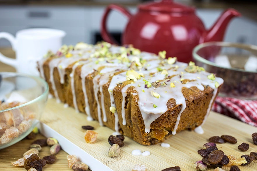 Bakedin Healthy Baking Recipes Tea Loaf