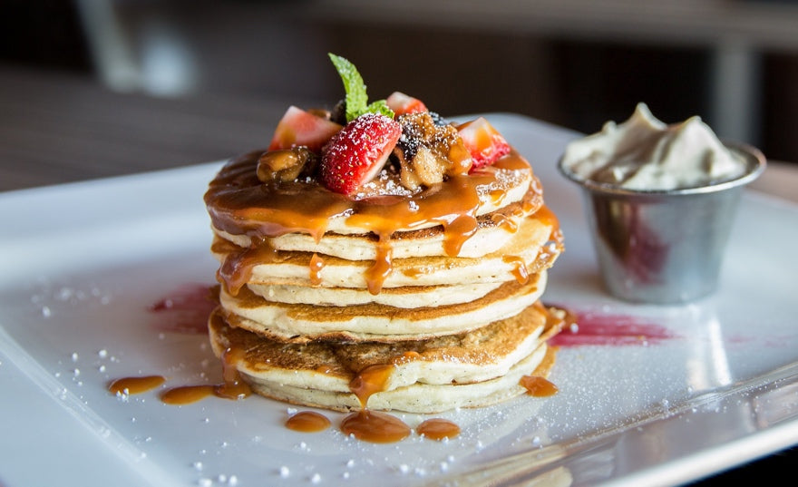 Bakedin Mothers Day Breakfast in Bed Ideas Pancakes
