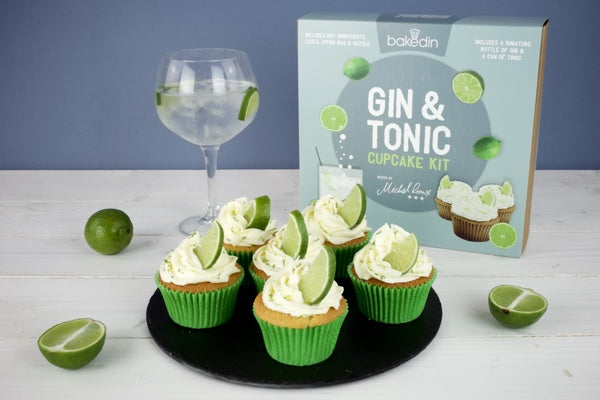 Bakedin Perfect Picnic Desserts Gin Tonic Cupcakes