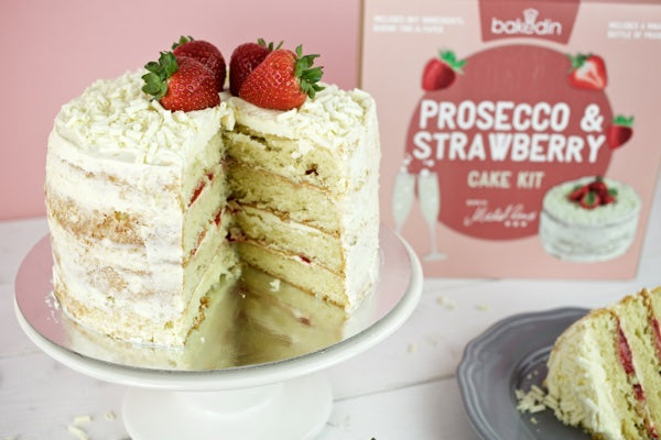 Bakedin Perfect Picnic Desserts Strawberry Prosecco Cake