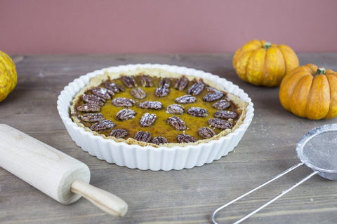 Bakedin Spiced Pumpkin and Pecan Tart Recipe