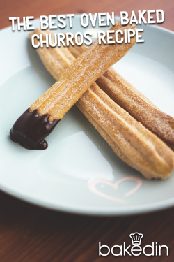 Bakedin The Best Oven Baked Churros Recipe