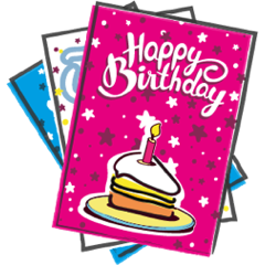 Bakedin Cake Cards Choose Your Flavour