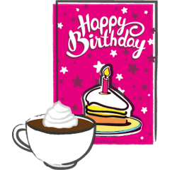Bakedin Cake Cards Receive Your Card
