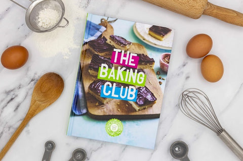photo of baking club recipe book