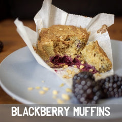 blackberry muffin baking kit