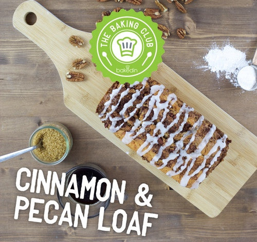 cinnamon and pecan loaf baking kit