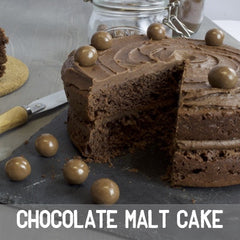 chocolate malt cake baking kit